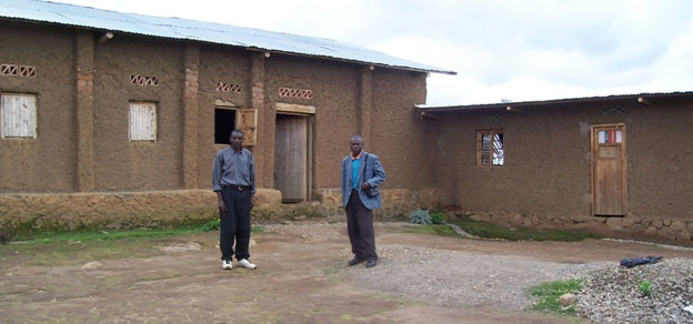 The church building and the house planned for children compassion project.